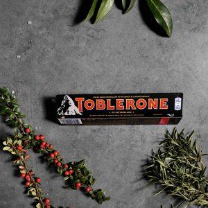 Шоколад чорний toblerone